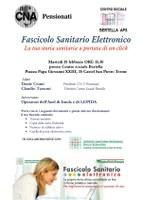"""Incontro pubblico martedì 18 febbraio presso il Centro Sociale Bertella: """"Fascicolo Sanitario Elettronico: la tua storia a portata di un click"""""""