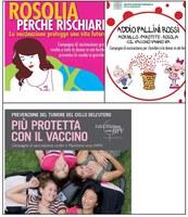 Vaccinazione contro morbillo, parotite, rosolia, Hpv: nuovi opuscoli e locandine (edizione 2013)