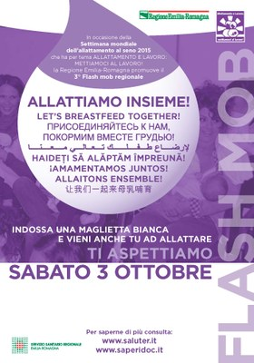 "Flashmob ""Allattiamo insieme!"" (5 ottobre 2015)"