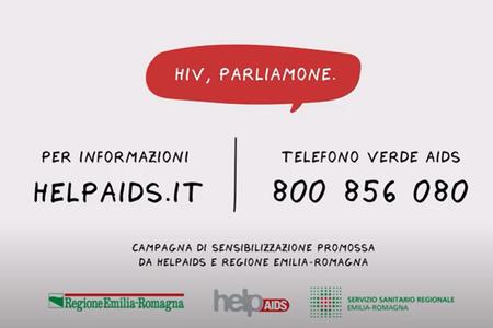 HIV parliamone, campagna di sensibilizzazione promossa da HelpAids e Servizio Sanitario Regionale