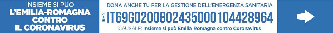 Insieme si può - L'Emilia-Romagna contro il Coronavirus