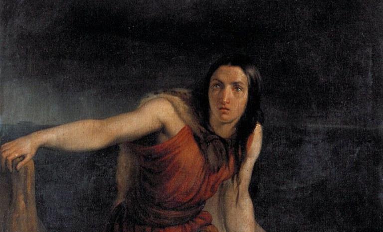 Pittore del XIX secolo, Saffo sulla rupe di Leucade, Azienda Usl di Ferrara