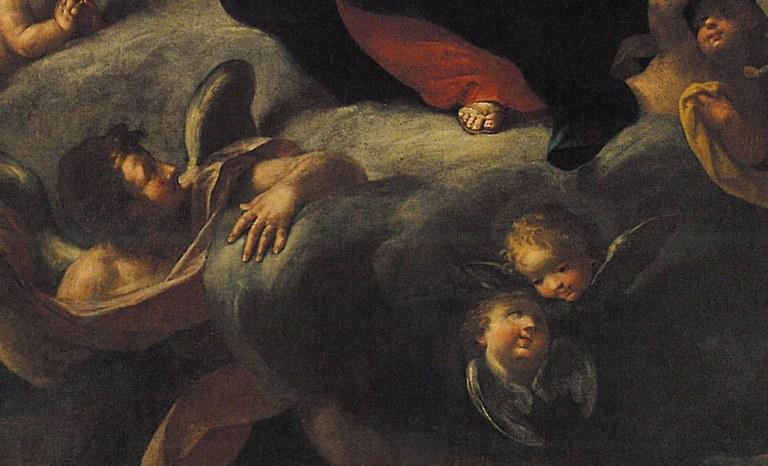 Giovan Battista Costa, Madonna col bambino in gloria, Azienda Usl di Rimini