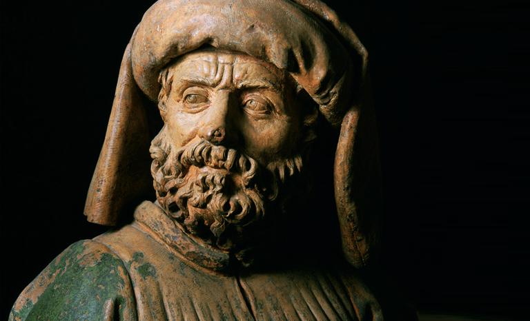 Niccolò dell'Arca, Compianto sul Cristo morto (particolare), Chiesa di S. Maria della Vita, Azienda Usl di Bologna