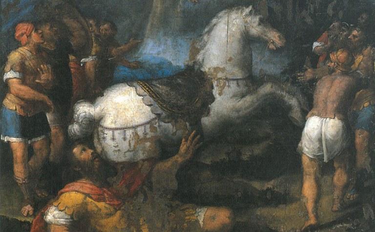 """Sebastiano Filippi detto Bastianino """"La caduta di san Paolo"""", Azienda Usl di Ravenna"""