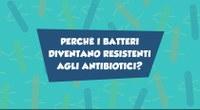 Perché i batteri diventano resistenti agli antibiotici?