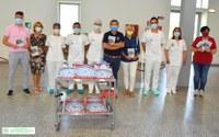 """Associazione """"Ferrara cambia"""": Donazione per i pazienti della Medicina Interna Ospedaliera 2"""