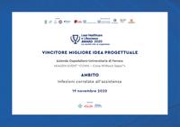"""Con un progetto sulla Sepsi il S. Anna tra i vincitori del """"Lean Healthcare e Lifescience Award 2020"""""""