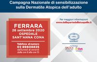 Dermatite atopica dell'adulto: consulti dermatologici gratuiti a Ferrara