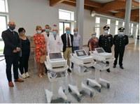 """Il Rotary Club """"Ferrara est"""" dona tre Elettrocardiografi al S. Anna"""