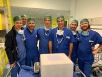 Al Policlinico il primo trapianto di rene da donatore vivente con prelievo robotico eseguito in Emilia - Romagna