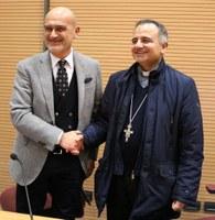Giornata Mondiale del Malato: Mons. Erio Castellucci ha incontrato i dipendenti e i pazienti al Policlinico di Modena