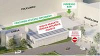 Hub nazionale terapie intensive: cominciano i lavori al Policlinico di Modena