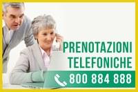 Cambiano gli orari del Call center per le prenotazioni