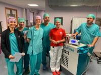 Nuovo laser al Tulio all'urologia per curare iperplasia benigna della prostata