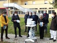Solidarietà da parte di Rotary Club di Cento per il pazienti Covid-19