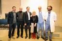Rina e le sue amiche consegnano un cistoscopio alla UOC di Urologia.  Raggiunto l'obiettivo 2018-2019 delle Stradozza delle SuperDonne e delle Camminate sotto le stelle. L'8 marzo 2020 si riparte con l'11esima Stradozza.