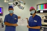 Ospedale di Carpi. Prestigioso riconoscimento per l'Endoscopia del Ramazzini. 10.000 euro per la ricerca sul trattamento delle ulcere