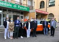 Pavullo: inaugurata la nuova automedica a servizio della comunità del Frignano
