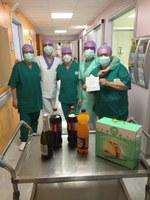 """Borgotaro, il dono pasquale dell'Associazione """"Bosco di Via"""" per l'Ospedale"""