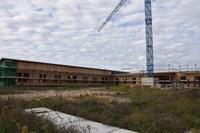 Casa della Salute Lubiana-San Lazzaro: ripresi i lavori al cantiere di via XXIV Maggio dopo lo stop imposto dall'emergenza Covid-19