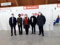 Coronavirus – Al via oggi le vaccinazioni al nuovo centro di Parma, il Pala Ponti di Moletolo