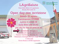 Coronavirus e vaccini: sabato 21 agosto open day a LagriSalute, la Casa della Salute di Lagrimone