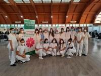 Dopo oltre 350mila vaccinazioni effettuate, sabato 11 settembre  chiude il centro vaccinale di Moletolo e si riorganizza quello del Maggiore