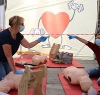 Malattie cardiovascolari: la prevenzione è scesa in piazza