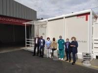 """Ospedale di Borgotaro, avanzano i lavori di miglioramento: partito il cantiere per rinnovare l'area operatoria, al via nuovi locali """"filtro"""" esterni per gli accessi al Punto di primo intervento"""