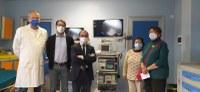 Ospedale di Borgotaro, nuova attrezzatura hi-tech donata all'UO Endoscopia da pochi giorni nella nuova sede