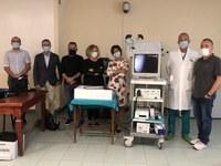 Ospedale di Vaio: il grazie dell'U.O. di Endoscopia digestiva e Gastroenterologia alla Pro loco di Costamezzana per la donazione di un videogastroduodenoscopio ultrasottile
