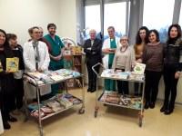 Tanti libri per i piccoli pazienti dell'AUSL