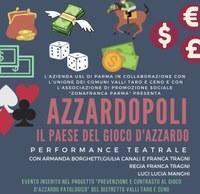 """Torna in scena """"Azzardopoli"""", il teatro contro la ludopatia"""