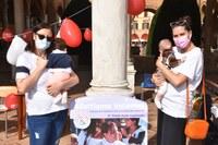 Successo per il Flash mob a sostegno dell'allattamento a Forlì