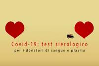 Test sierologici gratuiti ai donatori di sangue e plasma dell'Emilia-Romagna