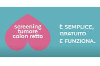 """Prevenzione tumori, riparte la campagna sullo screening del colon retto, all'insegna del messaggio """"È semplice, gratuito e funziona"""""""