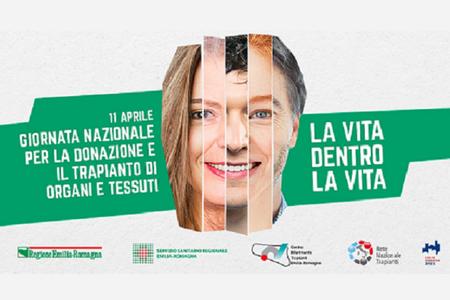 Domenica 11 aprile, la Giornata nazionale per la donazione e il trapianto di organi e tessuti
