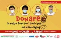 Lunedì 14 giugno la Giornata mondiale dei donatori di sangue, al via la campagna di comunicazione di Regione Emilia-Romagna, Avis e Fidas