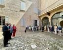 A San Martino in Rio (Re) apre il nuovo centro vaccinale all'interno della Rocca Estense