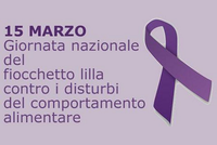 Disturbi del comportamento alimentare, lunedì 15 marzo è la Giornata nazionale del Fiocchetto Lilla