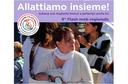 """""""Allattiamo insieme"""", tanti eventi in Emilia-Romagna per la Settimana mondiale dell'allattamento che parte domani, venerdì 1 ottobre, e termina il 7"""