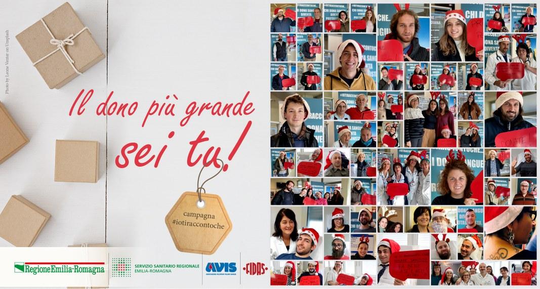 Chi dona sangue inizia un nuovo racconto #Io ti racconto che...Il dono più grande sei tu