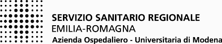 Azienda Ospedaliero-Universitaria di Modena - bianco e nero